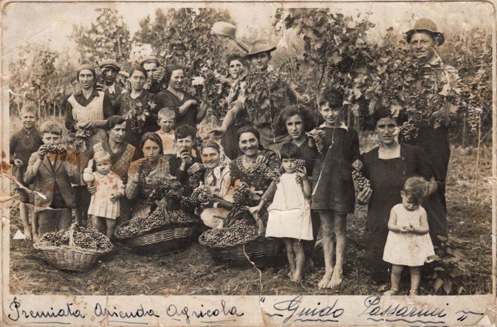 Famiglia Passarini foto storica