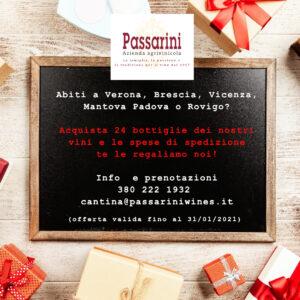 offerta di Natale 2020 Cantina Passarini
