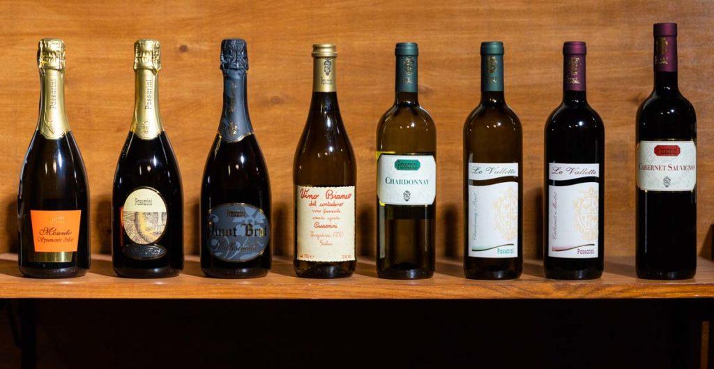 I nostri vini - Passarini Wines